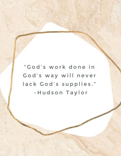 Hudon Taylor Quote